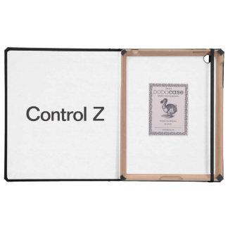 control z iPad case