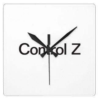 control z wallclocks