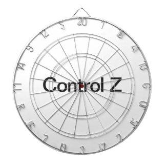 control z dartboard with darts
