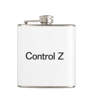 control z hip flask