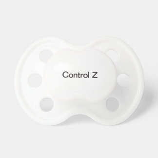 control z baby pacifier