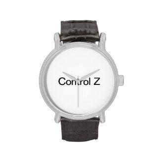 control z wristwatches