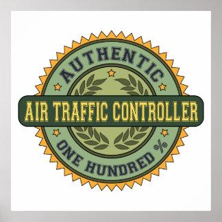 Controlador aéreo auténtico posters