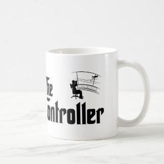 Controlador aéreo taza de café