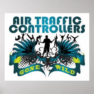 Controladores aéreos idos salvajes posters
