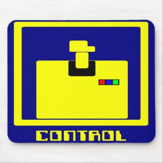 """""""Controle"""" el cojín de ratón Alfombrillas De Ratón"""
