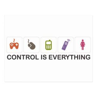 Controle es todo tarjetas postales
