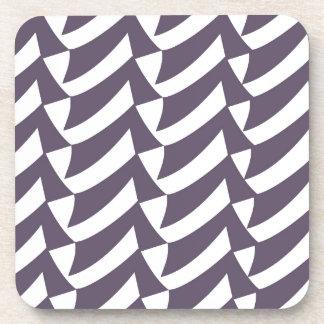 Controles de la púrpura y del blanco portavasos