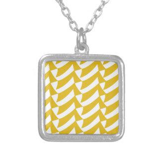 Controles de oro del amarillo colgante cuadrado