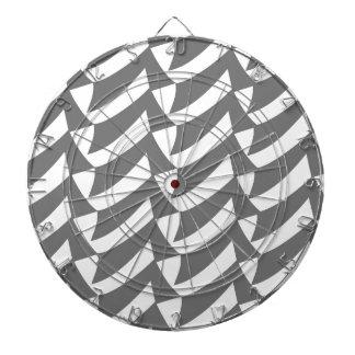 Controles del gris tablero dardos