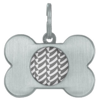 Controles del gris placas de mascota