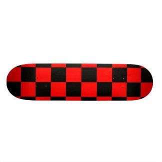 Controles del rojo tabla de skate