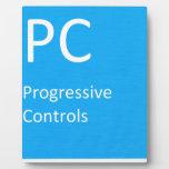 Controles progresivos placas de plastico