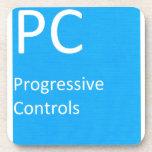 Controles progresivos posavasos