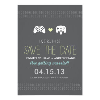 Controller Love Save the Date Announcements