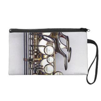 Controls of Saxophone Wristlet Purses