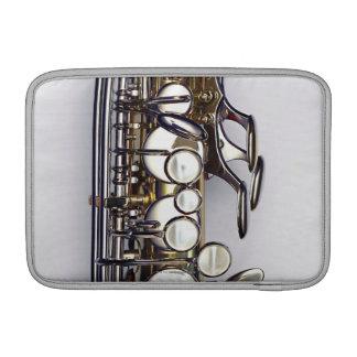 Controls of Saxophone MacBook Air Sleeves