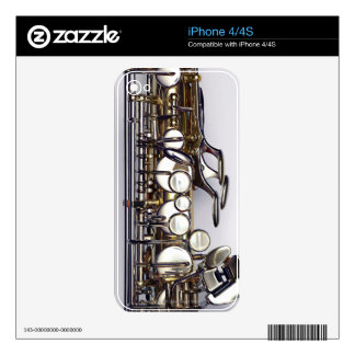 Controls of Saxophone iPhone 4S Skins