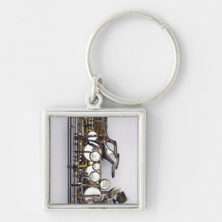 Controls of Saxophone Keychain