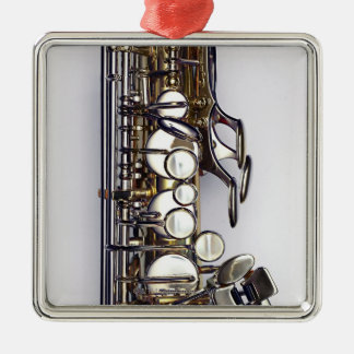 Controls of Saxophone Christmas Tree Ornament
