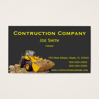 Contruction Business Cards