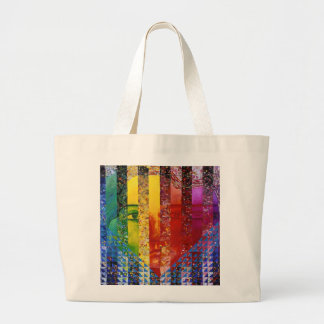 Conundrum I – Abstract Rainbow Woman Goddess Tote Bag