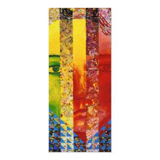 Conundrum I – Abstract Rainbow Woman Goddess Card