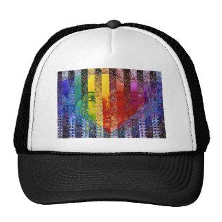 Conundrum I – Abstract Rainbow Woman Goddess Trucker Hat