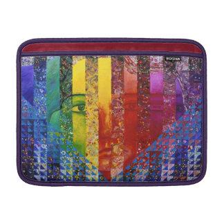 Conundrum I – Abstract Rainbow Woman Goddess Sleeve For MacBook Air