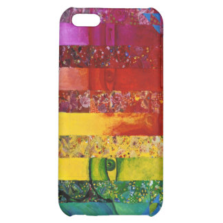 Conundrum I – Abstract Rainbow Woman Goddess iPhone 5C Cases
