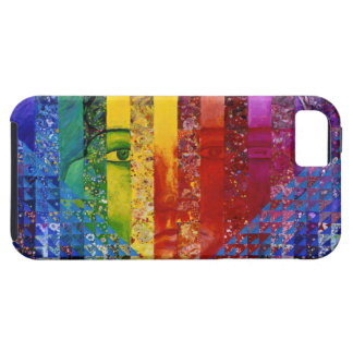 Conundrum I – Abstract Rainbow Woman Goddess iPhone SE/5/5s Case