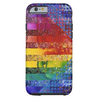 Conundrum I – Abstract Rainbow Woman Goddess iPhone 6 Case