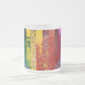 Conundrum I – Abstract Rainbow Woman Goddess Coffee Mugs