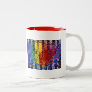 Conundrum I – Abstract Rainbow Woman Goddess Mug