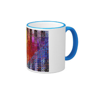 Conundrum I – Abstract Rainbow Woman Goddess Mugs