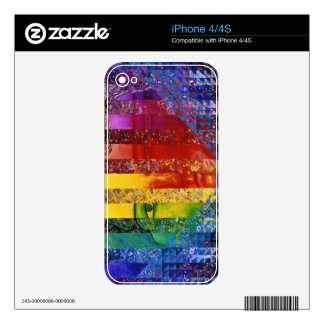 Conundrum I –Abstract Rainbow Woman Goddess Skin For The iPhone 4S