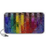 Conundrum I – Abstract Rainbow Woman Goddess Mini Speakers