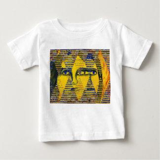Conundrum II – Abstract Golden & Sapphire Goddess Baby T-Shirt