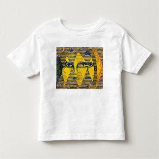 Conundrum II – Abstract Golden & Sapphire Goddess Toddler T-shirt