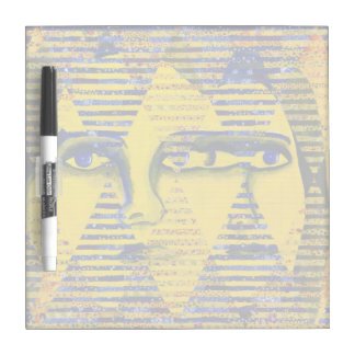 Conundrum II, Golden Sapphire Goddess Abstract Dry-Erase Boards