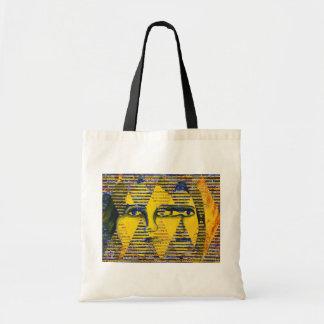 Conundrum II – Golden & Sapphire Goddess Bag