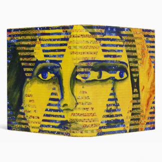 Conundrum II – Golden & Sapphire Goddess Vinyl Binder