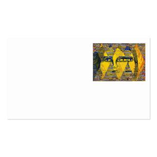 Conundrum II – Golden & Sapphire Goddess Business Cards