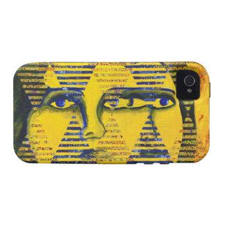 Conundrum II – Golden & Sapphire Goddess Vibe iPhone 4 Case