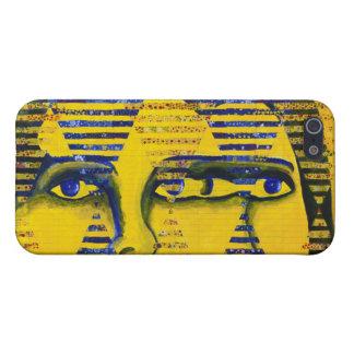 Conundrum II – Golden & Sapphire Goddess iPhone 5 Cases