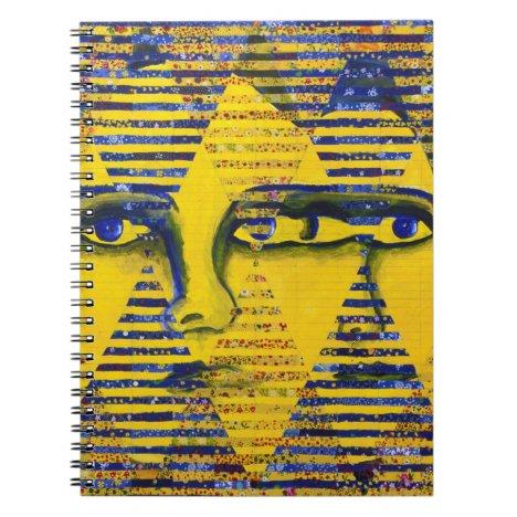 Conundrum II – Golden & Sapphire Goddess Notebook