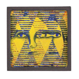 Conundrum II – Golden & Sapphire Goddess Premium Keepsake Box