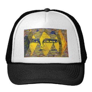 Conundrum II – Golden & Sapphire Goddess Trucker Hat