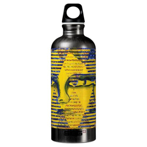 Conundrum II – Golden &amp&#x3B; Sapphire Goddess Water Bottle