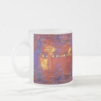 Conundrum III - Abstract Purple & Orange Goddess Coffee Mug